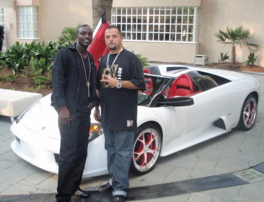Akon Lamborghini Murcielago