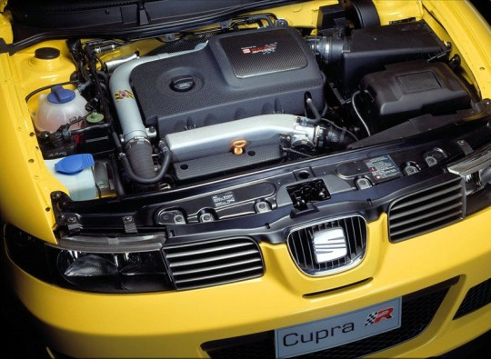Seat Leon Cupra R 20vT Engine