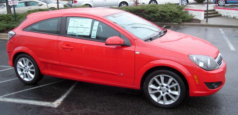 Test Drive: 2008 Saturn Astra XR