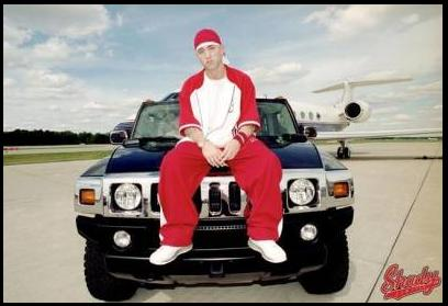 Eminem Hummer H2