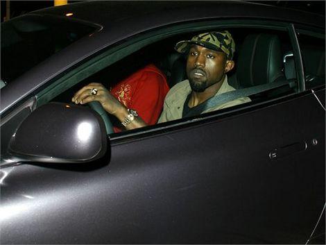 Kanye West Aston Martin DB9