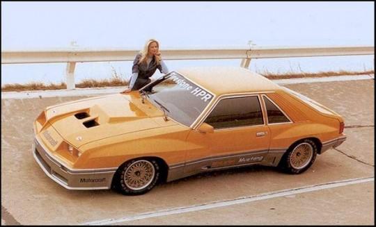 1981 Mclaren Turbo Mustang
