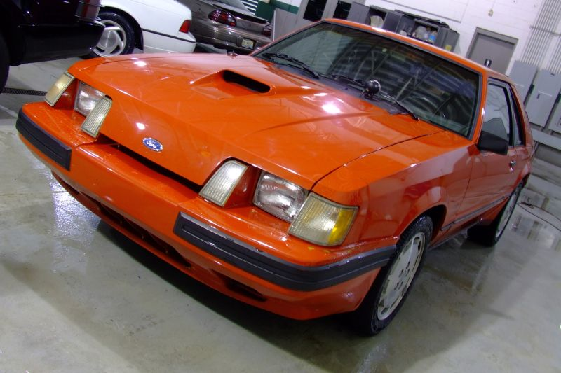 Retrospective 1984 86 Ford Mustang SVO