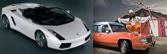 T-Pain Lamborghini Gallardo Spyder and Hearse!