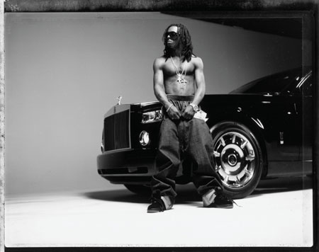 Lil Wayne Rolls Royce Phantom Drophead Coupe