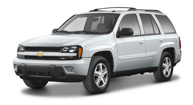 Car Trottle Parting Shot - The Chevy Trailblazer and it's ...