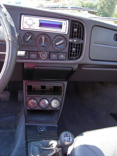 Saab 900 SPG interior