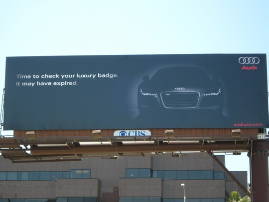 Audi Billboard Detail