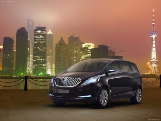Buick Business Concept Front