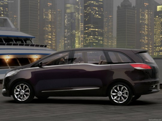 Buick Business Concept Rear View