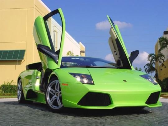 Ja Rule Lamborghini Murcielago