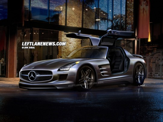 Mercedes-Benz SLS AMG Renderings