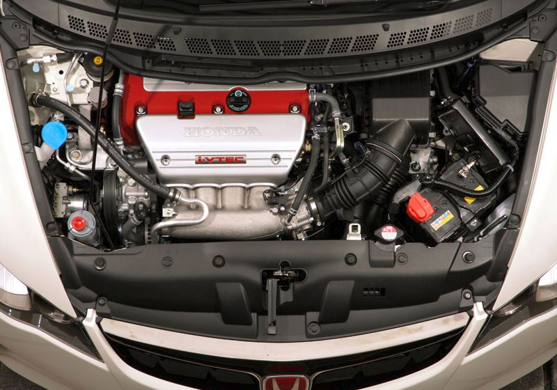 2009 Honda Civic Si Sedan Engine