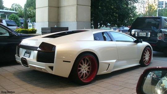 Young Jeezy Lamborghini Murcielago LP640