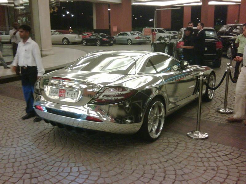 Chrome Mercedes Benz Slr Mclaren Anyone Just Me Then