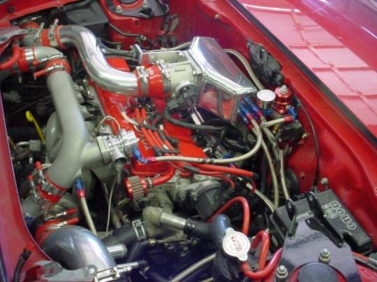 Toyota MR2 Turbo engine