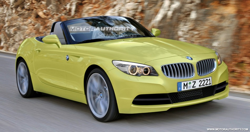 BMW Z2 Rendered