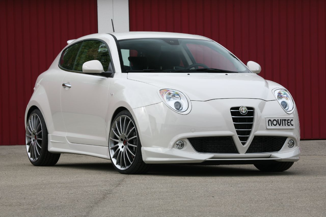 novitec tunes the alfa romeo mito. Black Bedroom Furniture Sets. Home Design Ideas