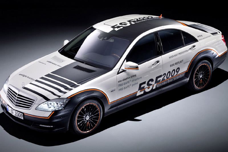 Mercedes Benz Esf 2009 S Class Safety Concept
