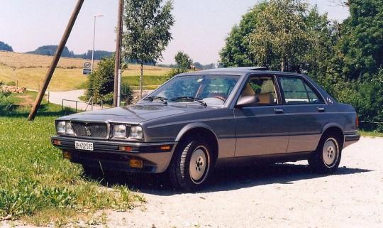 1987 Maserati 4.30 Sedan