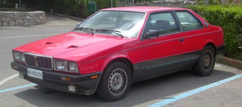 Maserati biturbo problems