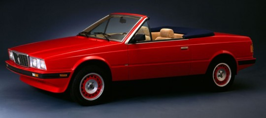 1984 Maserati Biturbo Spyder