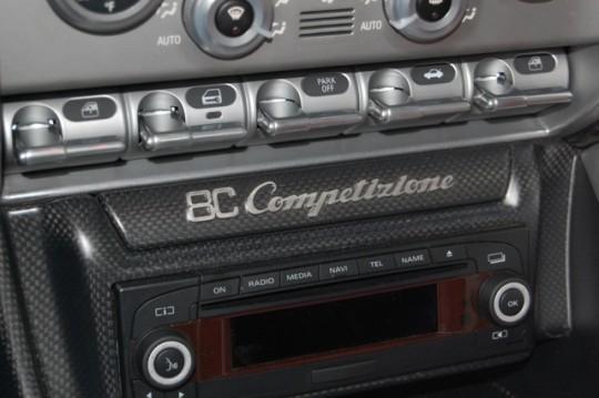 Alfa Romeo 8C Centre Console