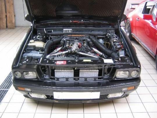1991 Maserati Racing engine