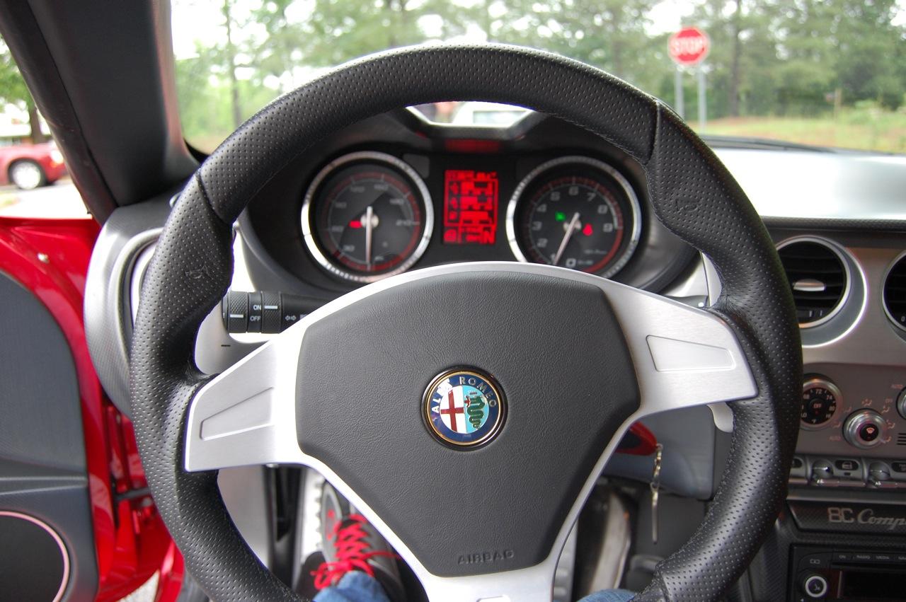Alfa Romeo 8C Steering Wheel