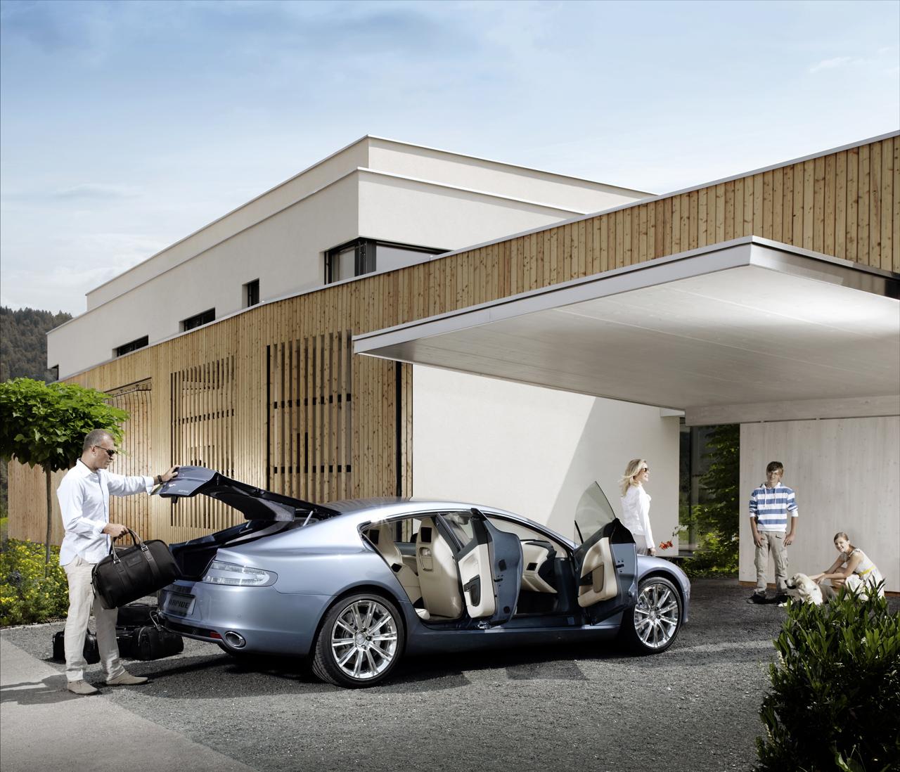 Frankfurt 2009: Aston Martin Rapide