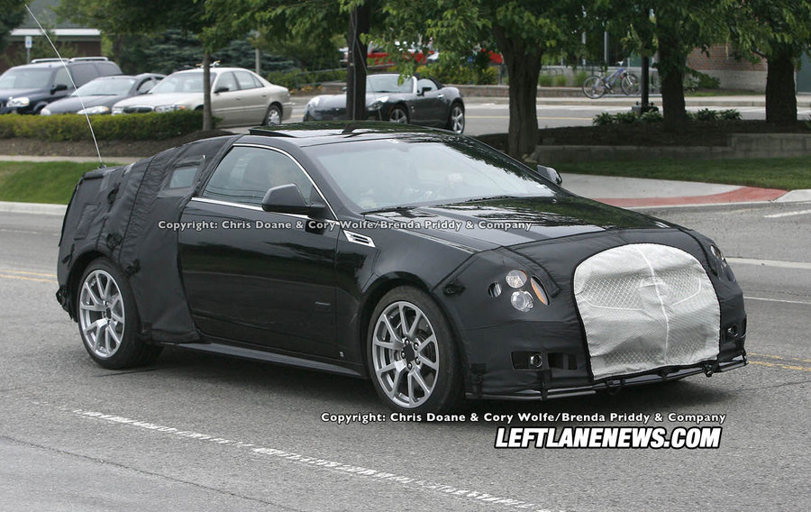 Cadillac CTSV Coupe Spotted