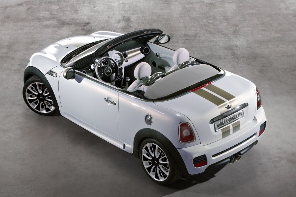 mini coupe and roadster headed to production. Black Bedroom Furniture Sets. Home Design Ideas