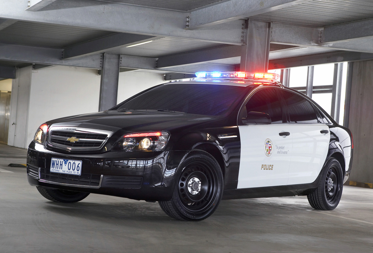 Chevrolet Caprice Returns As A Police Car