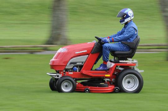 100mph Record Breaking Lawn Mower