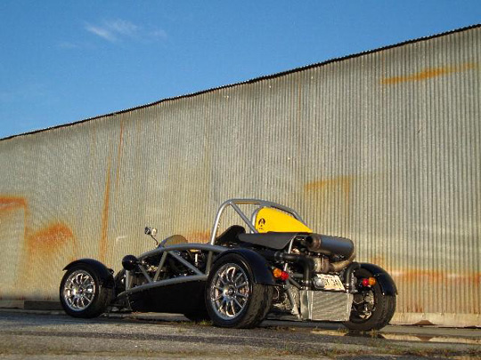 DDMworks Ariel Atom With Turbo AND Supercharger