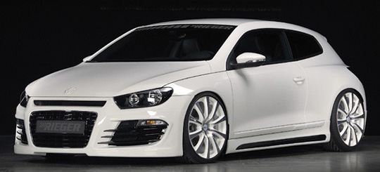 A Canadian 550hp AWD Volkswagen Scirocco Eh