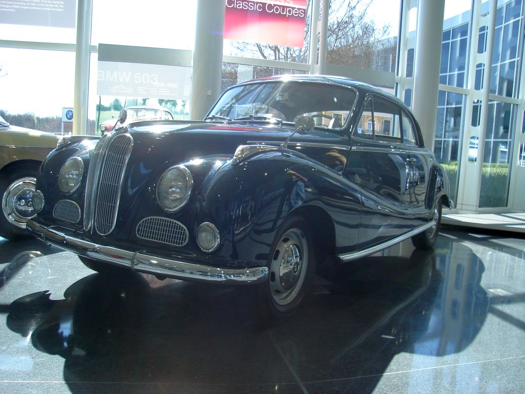 first post-war German cars