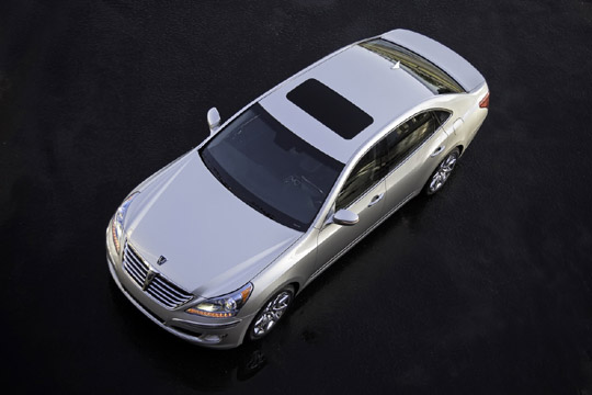 2011 Hyundai Equus Ditches Owner's Manual For