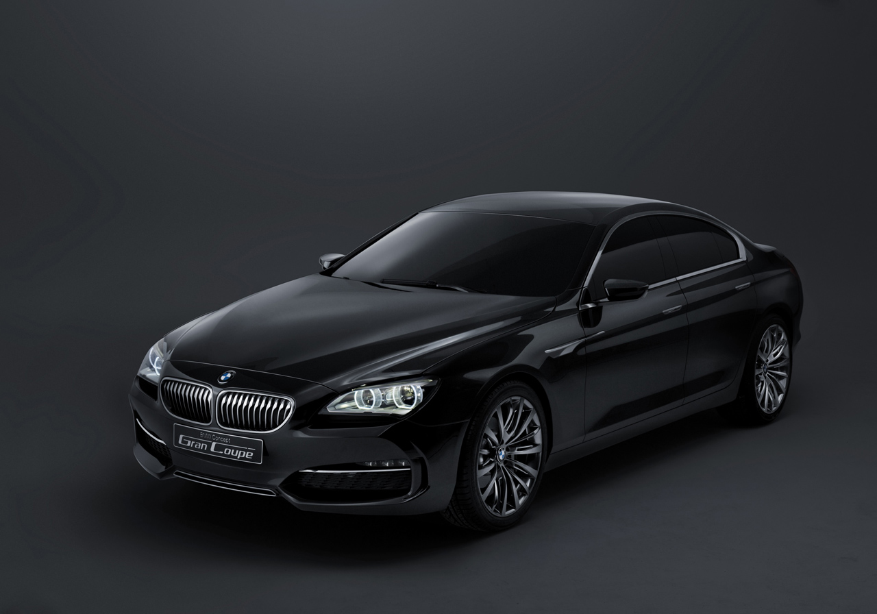Beijing BMW Concept Gran Coupe - 5 series bmw coupe