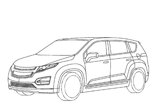 Electric Car Coloring Pages : Volt like extended range electric minivan coming from gm