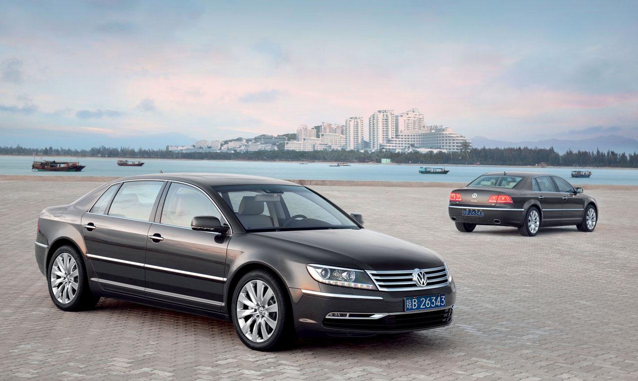 Photos of the 2011 VW Phaeton Released