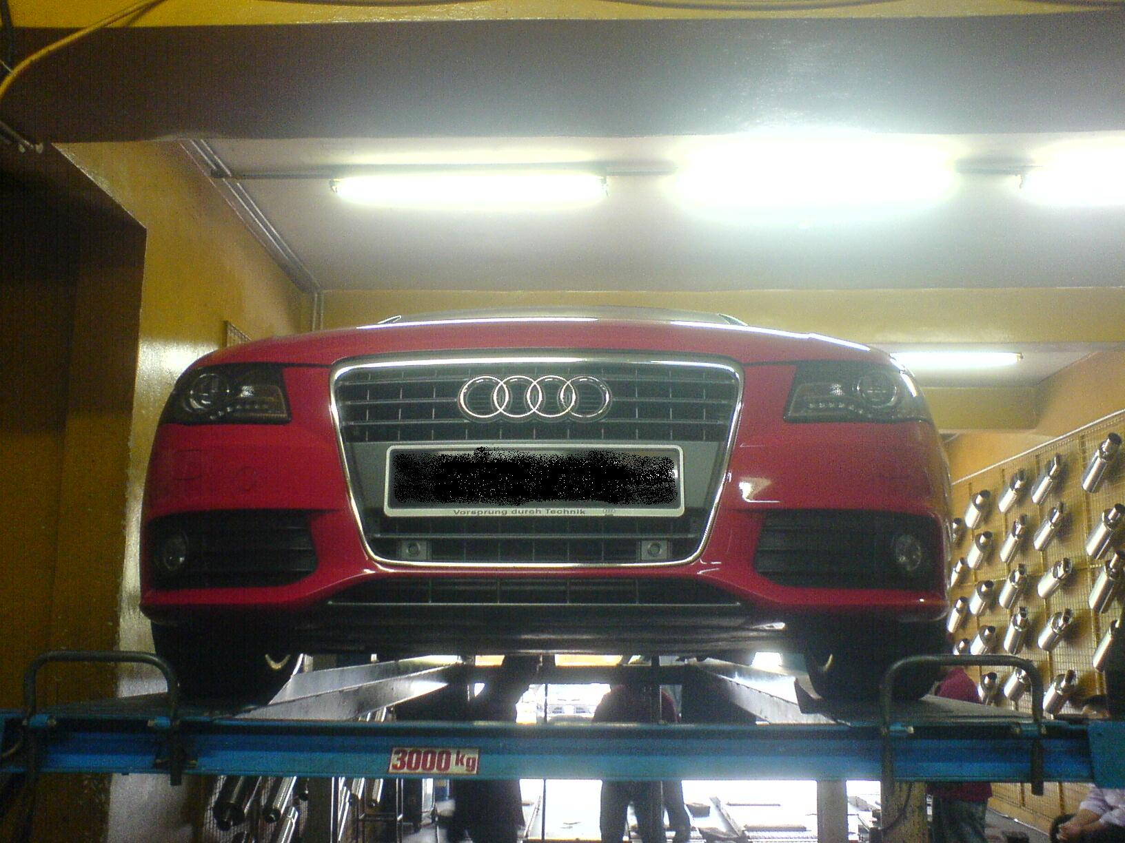 Audi A4 18tfsi Tuning The Space Station Gets A New Exhaust System