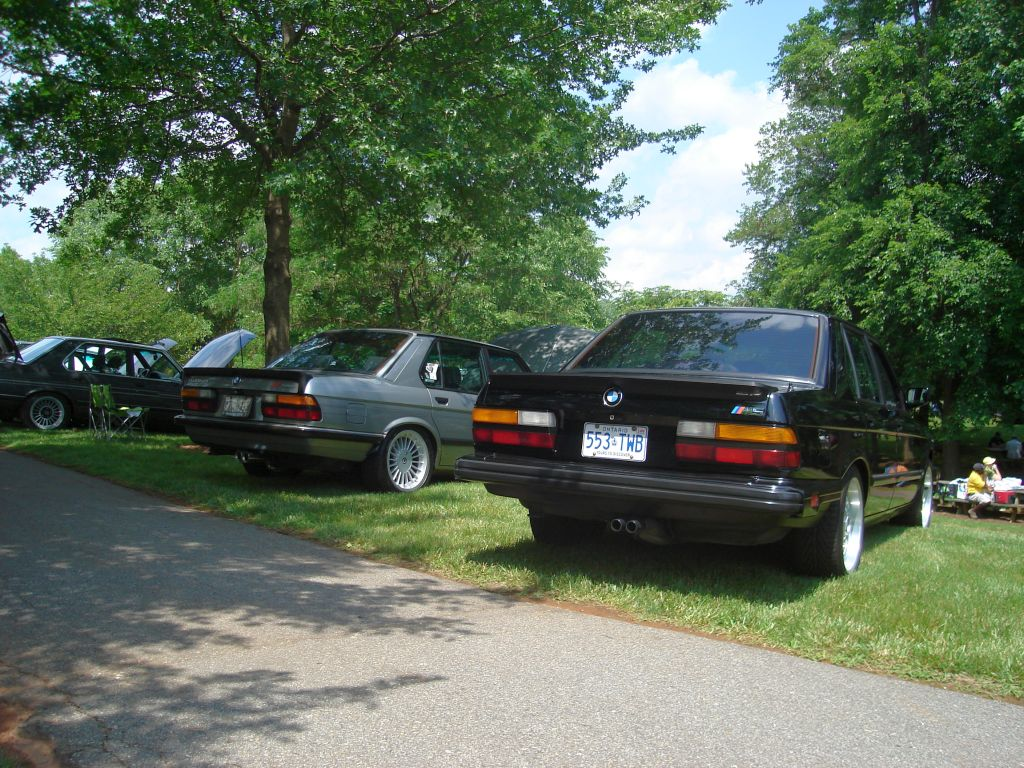 A super-rare Turbo Alpina E28,