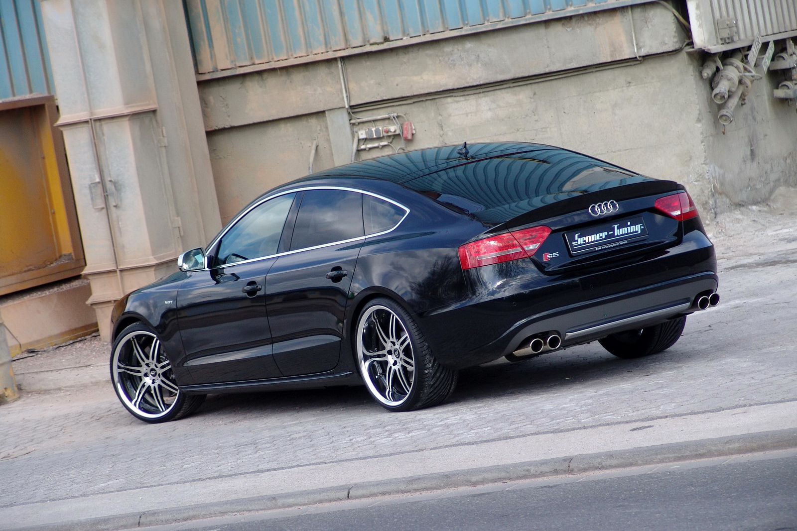 senner tunes audi s5 sportback dubs it grand prix. Black Bedroom Furniture Sets. Home Design Ideas