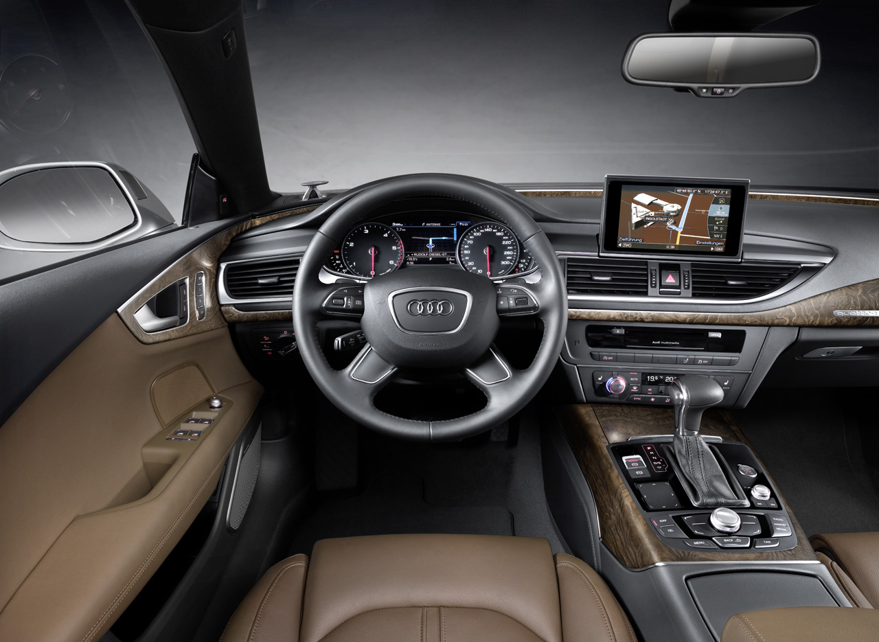 audi a7 sportback revealed. Black Bedroom Furniture Sets. Home Design Ideas