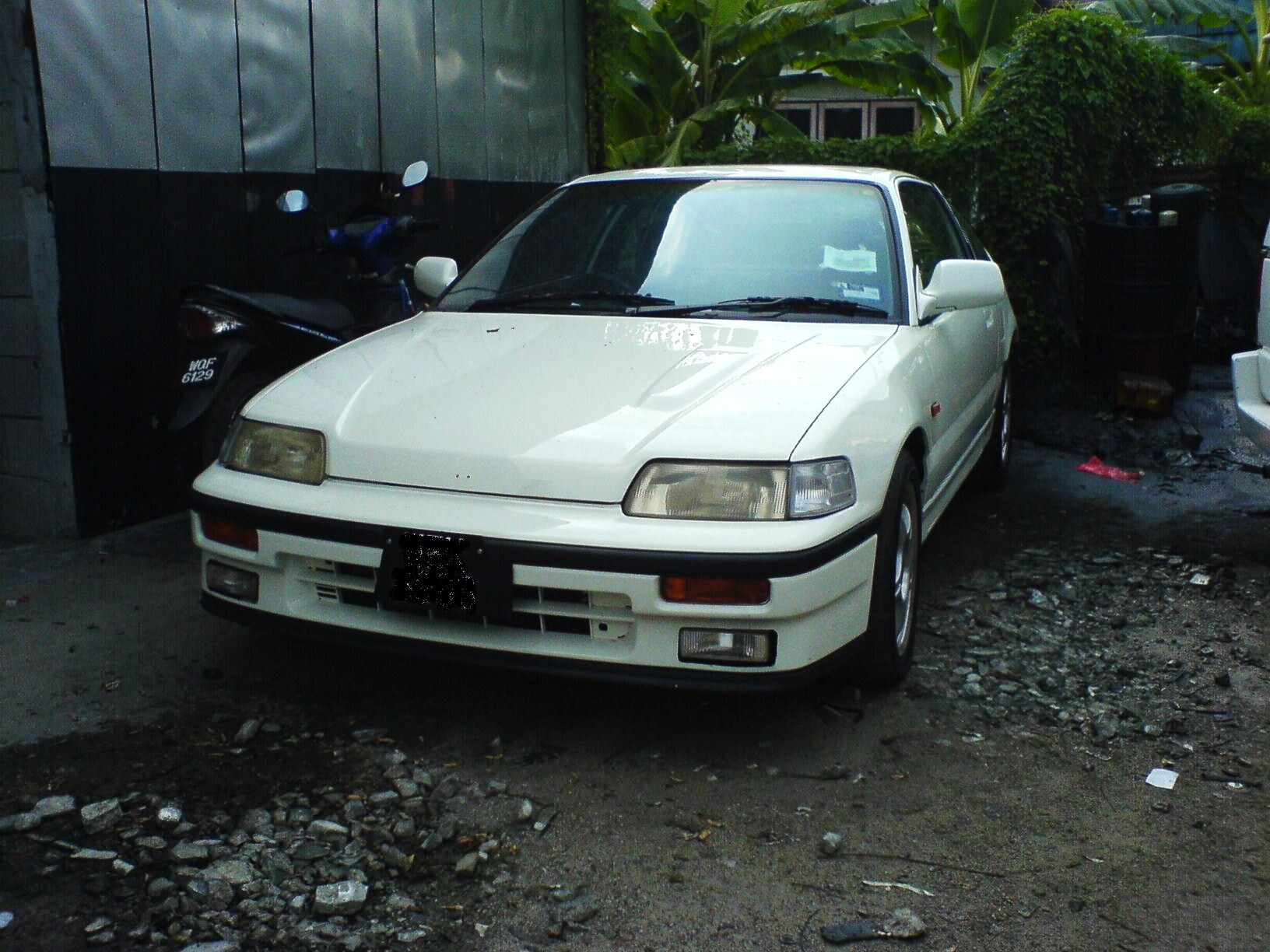 An Old Friend Revisited The 2nd Generation Honda CRX