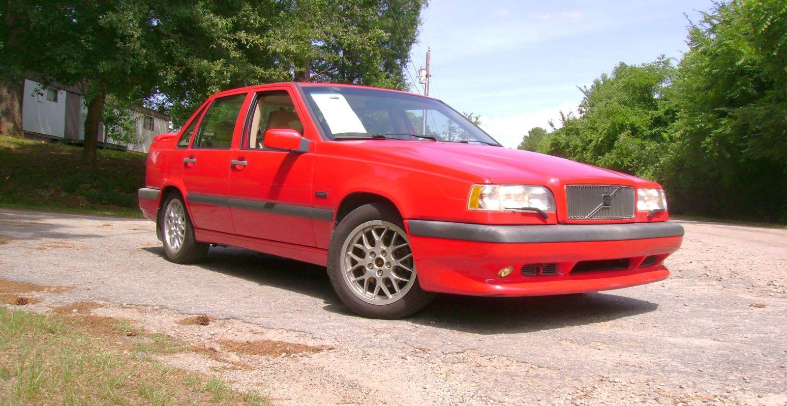 Test Drive: 1997 Volvo 850R