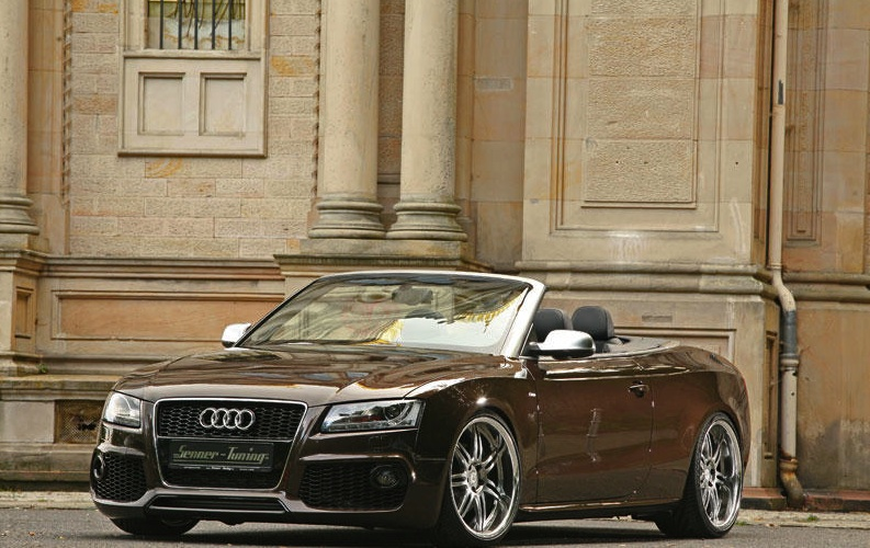 Stunning Senner Turns To The Audi A5 Cabriolet