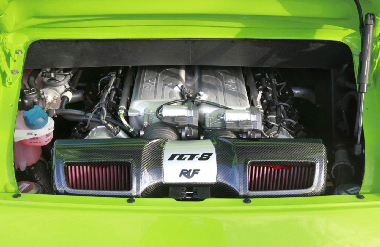Porsche RUF RGT-8: RUF Stuffs A Bespoke V8 Engine Into A Porsche 911
