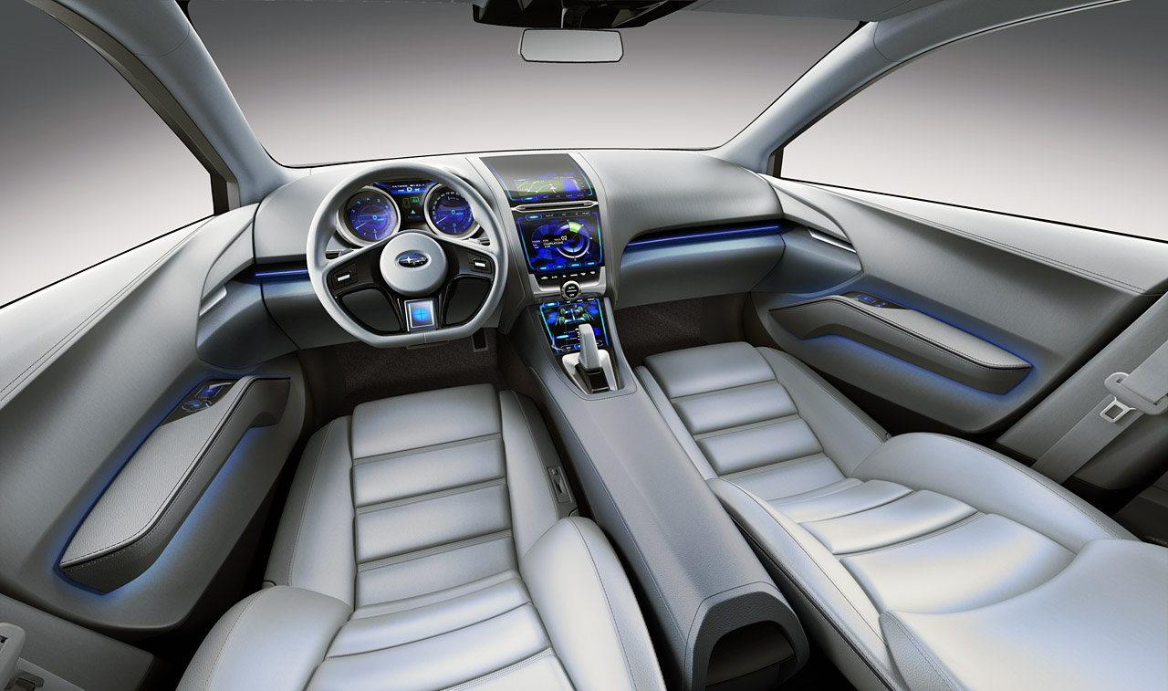 la 2010 subaru impreza concept. Black Bedroom Furniture Sets. Home Design Ideas